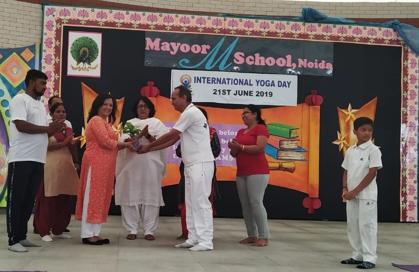 International Yoga Day Celebrated at Mayoor
