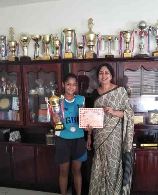 Aditi brings laurels in basketball